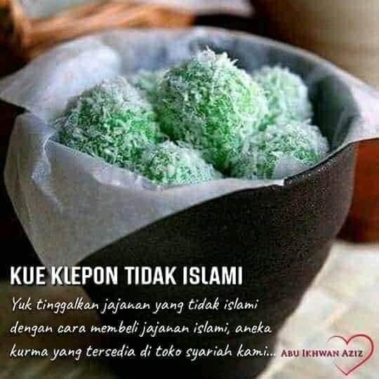 Muasal klepon tidak islami