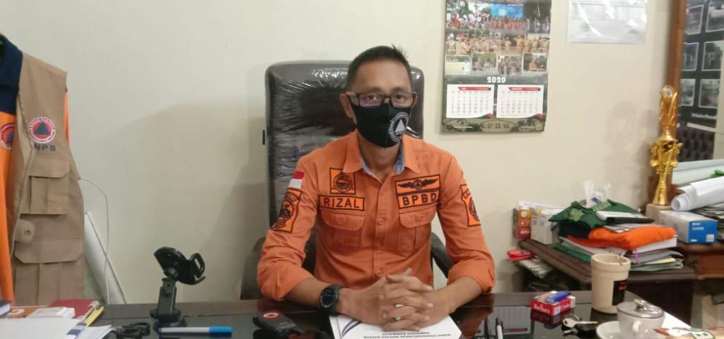 Kepala BPBD Bangkalan, Rizal Morris