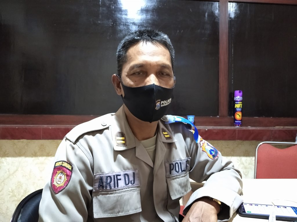 razia masker Bangkalan