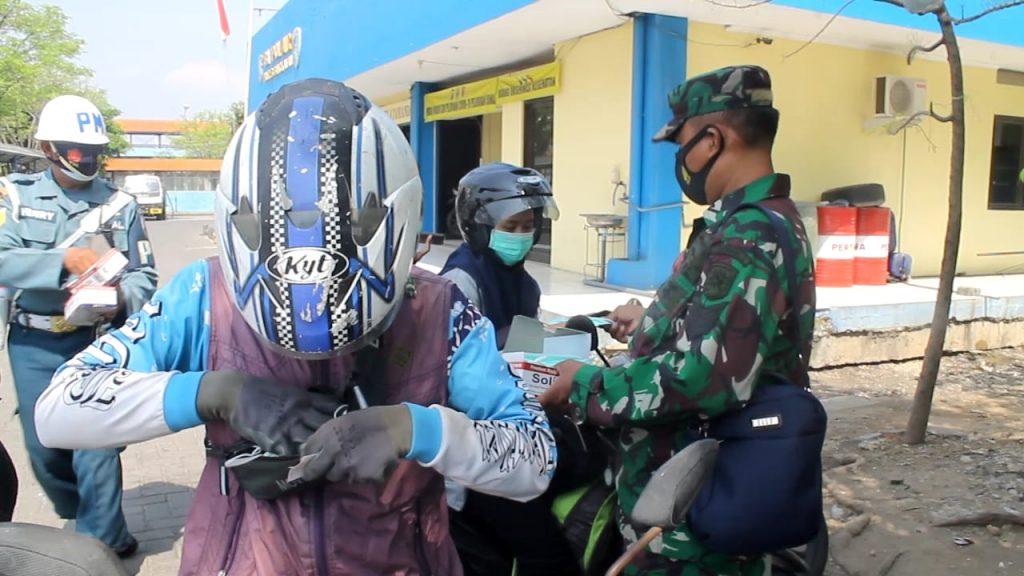 satu juta masker TNI AL