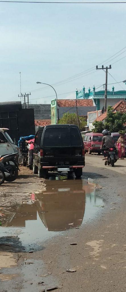 warga keluhkan genangan air