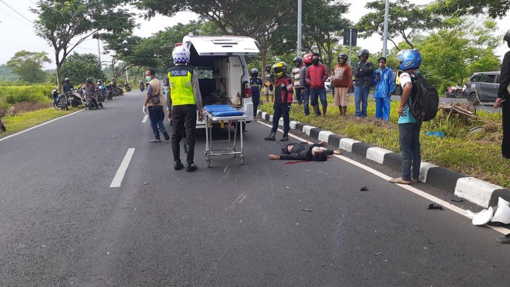 kecelakaan di Akses Suramadu