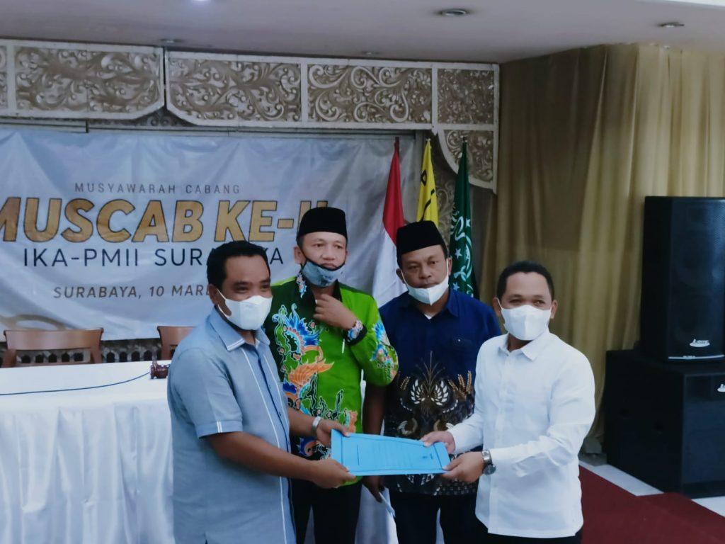 Gantikan Cak Throriq, Mahfud S.Ag Pimpin IKA PMII Surabaya