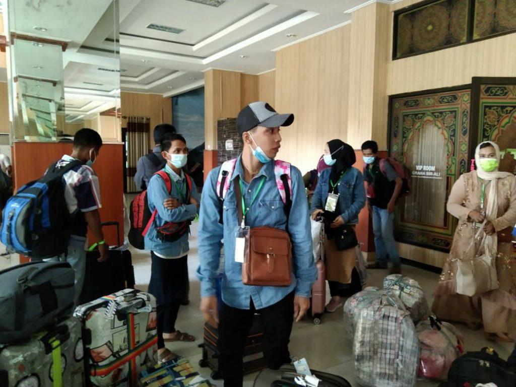 Pekerja Migran Sumenep Tiba dari Malaysia, Isolasi Tiga Hari di RIDC